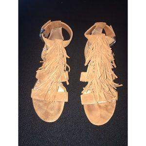 Kenneth Cole Fringe Sandals